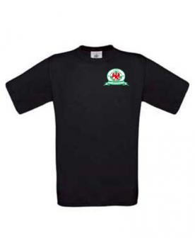 T-shirt zwart heren